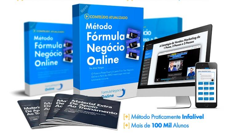Curso Fórmula Negócio Online Do Alex Vargas