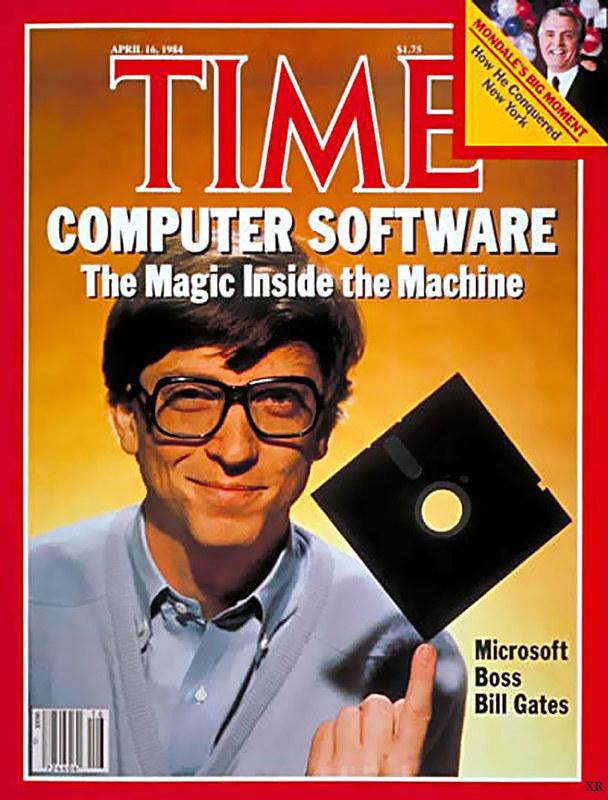 Bill Gates no início da Microsoft