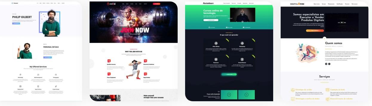Curso Rocketwp projetos