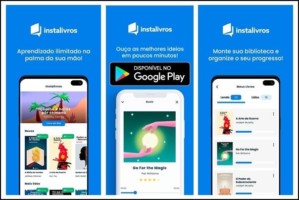 Instalivros app