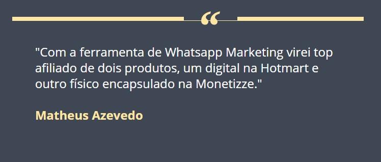Vendernozap.com depoimentos