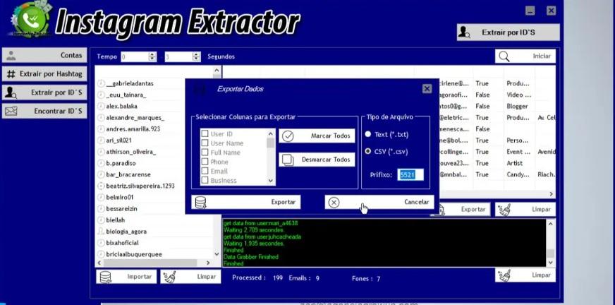 Vendernozap.com Extractor