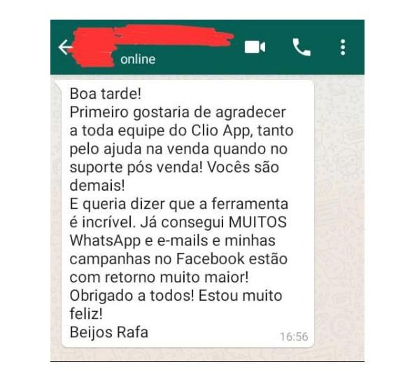 Clio App Depoimentos