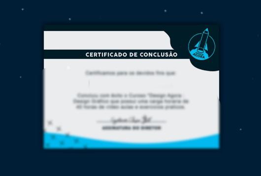 Curso Design Agora certificado