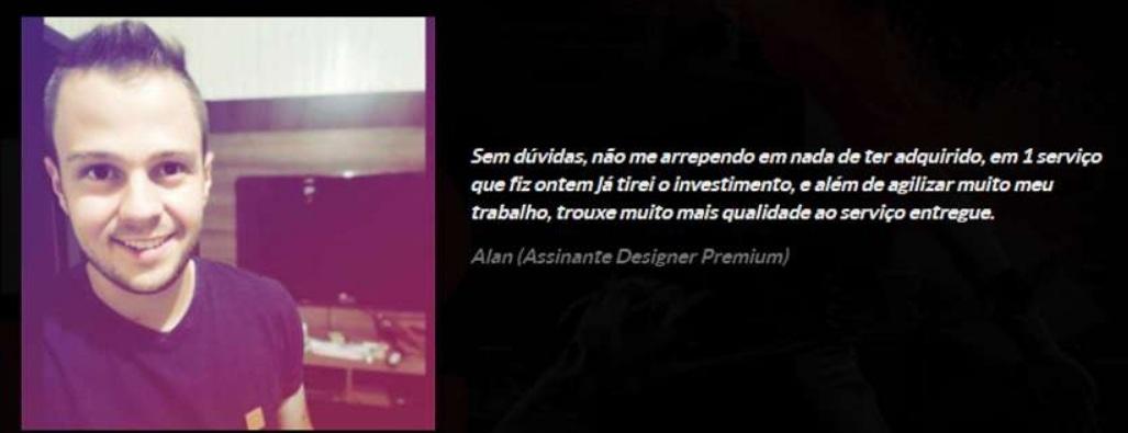 Designer Premium Depoimentos