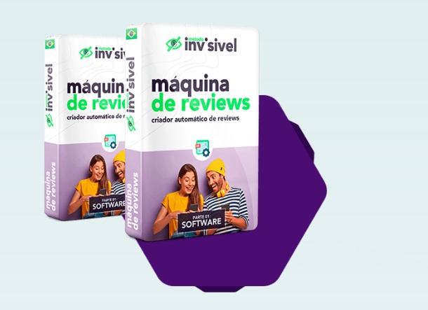 Método Invisível Máquina de reviews