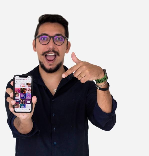 Maurecy Moura autor do curso vendas no Instagram 6.0